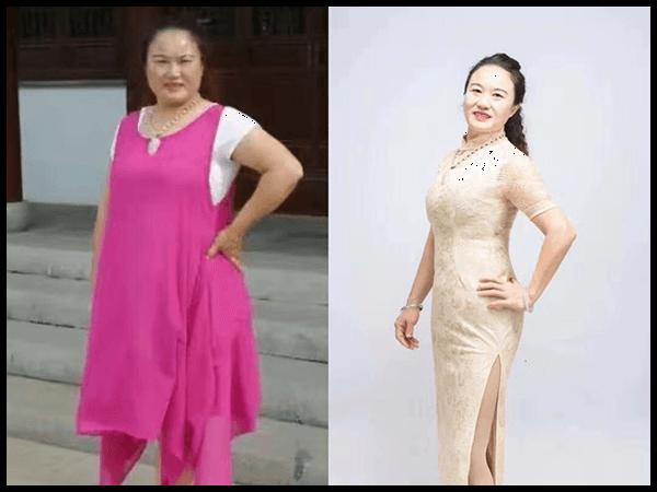 江苏 严光蓉 减重52.6斤